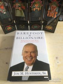Barefoot to Billionaire: Reflections on a Lifes Work and a Promise to Cure Cancer (英语) 精装 – 签名本