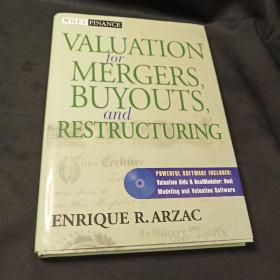 Valuation for Mergers, Buyouts, and Restructuring (Wiley Finance)  (有盘)