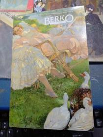 BERKO Fine Paintings百鹤高画廊油画作品(中英文本)