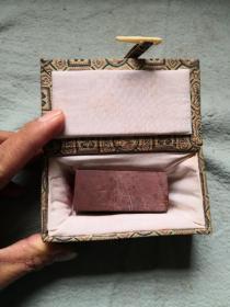 带锦盒寿山石印章一枚