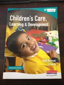 【外文原版】Children's Care, Learning and Development-儿童的关心、学习和发展【封底受损】