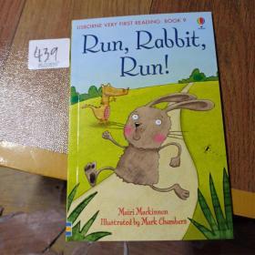 Run,Rabbit,Run!     USBORNE VERY FIRST READING: BOOK 9