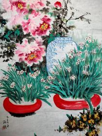 """宋雨桂 国画 一幅 ,==(保证手绘)==辽宁美术家协会主席、辽宁美术馆馆长、国家一级美术师。被誉为""""当代中国山水画第一人"""",享受国务院政府特殊津贴。"""