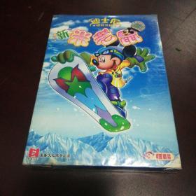 老光盘……新米老鼠VCD(迪士尼经典卡通)4碟装vcd带塑封