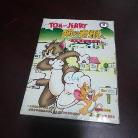 老光盘……猫和老鼠:汤姆和小老鼠VCD(4碟装vcd带塑封)
