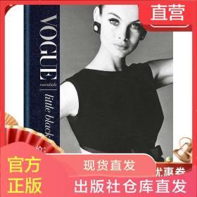 现货原版 Vogue Essentials: Little Black Dress Vogue必备:小黑裙 Vogue杂志推荐时尚服装搭配小黑裙摄影画册