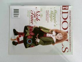 DOLLS magazine 2012/12 洋娃娃玩偶珍藏版 英文原版外文杂志
