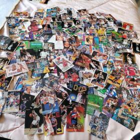 原版125张合售<早期NBA篮球明星卡>J3