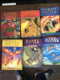Harry Potter and the Half-Blood Prince哈利波特六册合售英文版