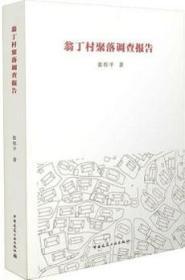 翁丁村聚落调查报告 9787112179329 张捍平 中国建筑工业出版社 蓝图建筑书店