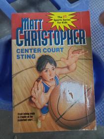 Center Court Sting (New Matt Christopher Sports Library)9780316142052