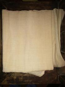 清代绢一条(220X67厘米)——湖州产