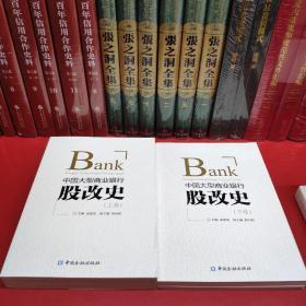 中国大型商业银行股改史(上 下卷)