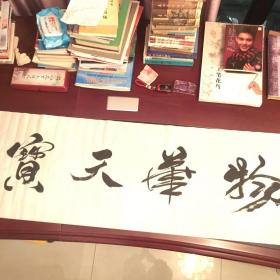 书法家杨锦涛书法作品。(物华天宝)