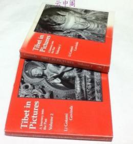 英文)古写真で见る昔日のチベット  全2册 Tibet in Pictures - 2 Volumes set, Volume 1: Expedition to Central Tibet ; Volume 2: A Journey to the Past.