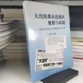 大沈阳都市连绵区规划与环境:沈阳经济区规划与环境影响评价论文集