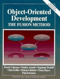 Object-Oriented Development: The Fusion Method-面向对象开发:融合方法