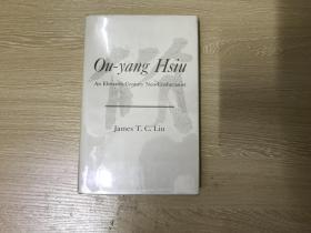 Ou-yang Hsiu  刘子健《欧阳修》,精装,1967年老版书