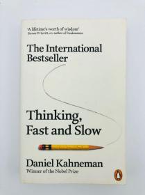 Thinking, Fast and Slow 英文原版-《思考,快与慢》