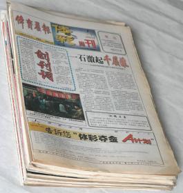 《90年代、2000年代报纸试刊号、创刊号、停刊号》33份(不重样).