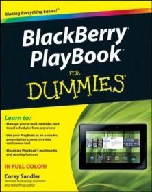 BlackBerry PlayBook For Dummies-黑莓傻瓜游戏手册