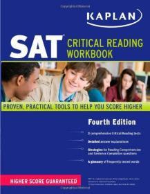 Kaplan SAT Critical Reading Workbook-卡普兰SAT批判性阅读手册