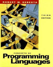 Concepts of Programming Languages-程序设计语言的概念