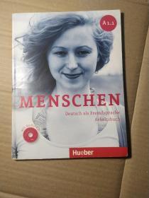 Menschen A1/1:Deutsch als Fremdsprache / Arbeitsbuch mit Audio-CD