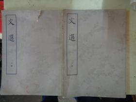 文选     (中下)册