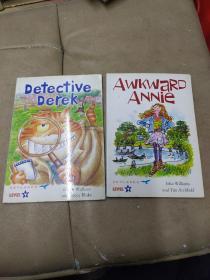 《Detective  Derek》《Awkward  ANNie》2册合售