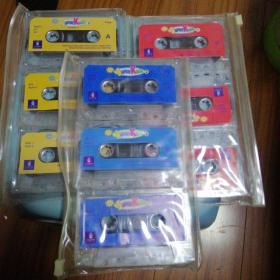 磁带 SUPER KIDS 1—3
