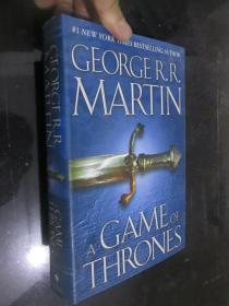 A Game of Thrones :A Song of Ice and Fire      (小16开,精装)