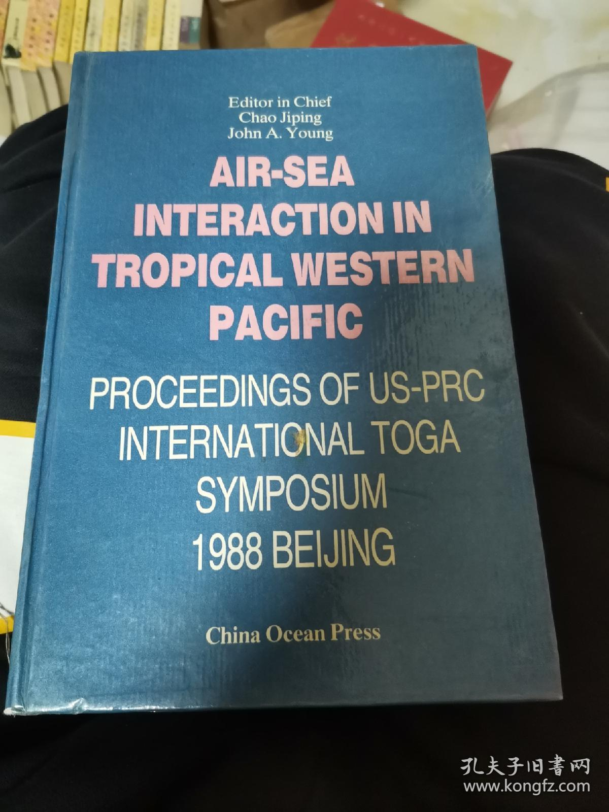 AIR-SEA INTERACTION IN TROPICAL WESTERN PACIFIC