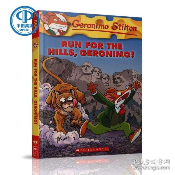 Geronimo Stilton #47: Run for the Hills, Geronimo!  老鼠记者#47:探险鼠黑山寻宝