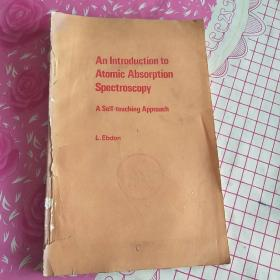 An Introduction to Atomic Absorption Spectroscopy A Self-teaching Approach