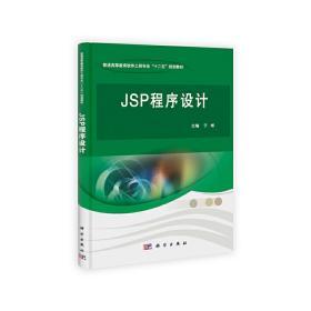 正版二手JSP程序设计于彬科学出版社9787030375643