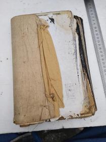 旧拓,南昌市古旧书店售出的碑帖两册,每页都有内衬,是乔氏载记(后有补图)