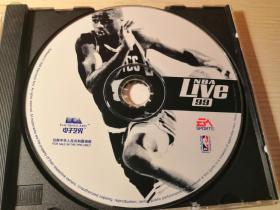 游戏光盘 电子艺界 NBA live 99