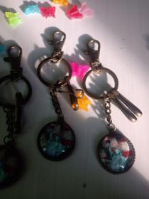 复古钥匙扣环保