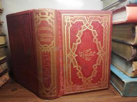 The Poetical Works of James Thomson  《詹姆斯汤姆森诗选》 烫金封面  三面刷金  插图版  18X12.5X4.5CM