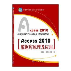 正版二手Access 2010数据库原理及应用张星云科学出版社9787030393159