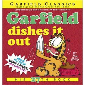 Garfield Classics: Garfield Dishes It Out (Series #27)加菲猫漫画#27,英文原版