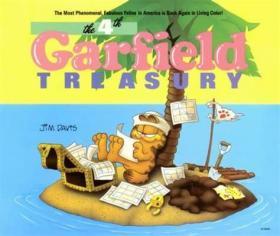 The 4th Garfield Treasury加菲猫合集#4,英文原版