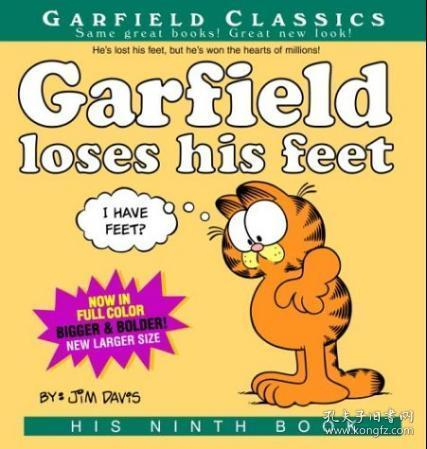 Garfield Loses His Feet: His 9th Book