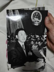 黑龙江省人大照片,孙维本同志(已去世)田凤山同志,黑龙江省人大主要领导同志,会议照片,27张合售,大幅,