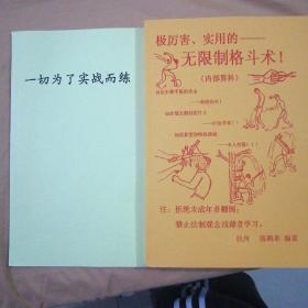 无限制格斗术(两册)