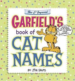 Garfield's Book of Cat Names加菲猫系列,英文原版