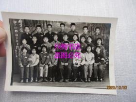 老照片:梅州中学初一(1)班红卫兵合影(1973年)