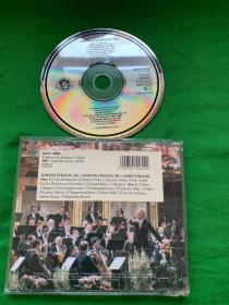 CBS1989年维也纳新年音乐会/克莱伯 维也纳爱乐乐团1CD