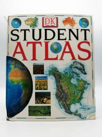 DK Student Atlas 英文原版-《DK学生地图册》